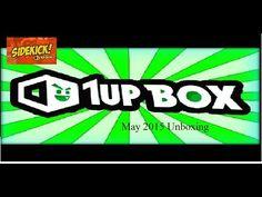 ( ͡ಠ ͜ʖಠ)  1up box Unboxing May 2015 #1upbox