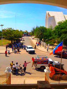 Gonaives, Artibonite Haiti. Why would anyone hate this colorful country ?