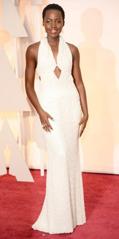 Eric Wilson's 10 Best-Dressed at the 2015 Academy Awards - 1. Lupita Nyong'o from #InStyle