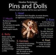 Hoodoo - Pins and Dolls
