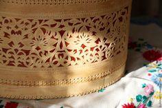 Купить туес из бересты - разноцветный, туес, туес берестяной, туес из бересты, хлебница, предмет интерьера