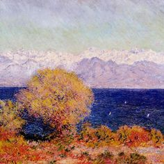 Claude Monet — View of Cap d'Antibes