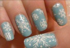 Snowflake Nail Art Three Easy Designs Playlist Nails