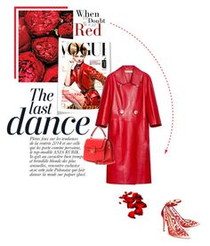 """Red"" by theitalianglam ❤ liked on Polyvore featuring Anja, Alexander White, Marni, Dolce&Gabbana, women's clothing, women, female, woman, misses and juniors"
