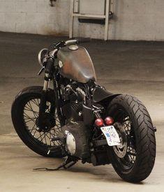 Adam Wichmann's Harley Davidson Sportster Bobber #harleydavidsonbobbersratbikes