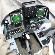 F-20 Tigershark Cockpit