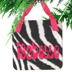 Heartland Designer Acrylic Christmas Ornament