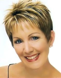 Short Haircuts For Women Over 50 Fine Hair | Gallery of short classic hairstyles. Picture 6.