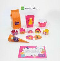 Decoração festa Infantil - kit festa infantil moda