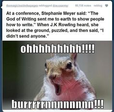 JK Rowling owns Stephanie Meyer. Haha I love em both but this is funny Harry Potter Welt, Harry Potter Memes, Turn Down For What, Stephanie Meyers, Fandoms Unite, Solangelo, Fantastic Beasts, Percy Jackson, Vampires