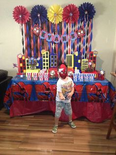 Spiderman Birthday Party Ideas | Photo 3 of 11