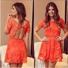 Lace# orange