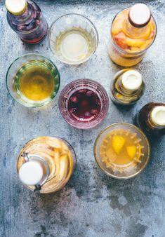 Flavored Kombuchas! Kombucha! Brew your own natural sodas - Slow Sunday