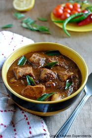 """""""I love Curry"""" It is a book by Anjum Anand in which I tried all her recipes except few non-vegetarian recipes.I liked all of them and her..."""