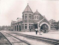 NYC Station, Lockport, NY by John R. Stewart, via Flickr