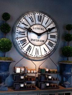 Clock inspiration.