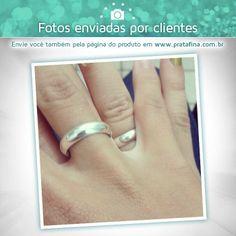 O Gisomar Junior nos mandou essa foto provando o que é amor de verdade. Tão lindo quando um casal se apaixona e decide unir o seu amor com alianças feitas por nós da Prata Fina   Alianças on-line para todo o Brasil: ❥ http://www.pratafina.com.br/cat/aliancas-de-compromisso/