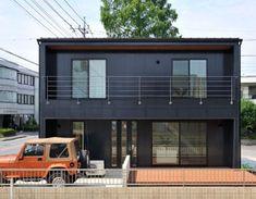 Minimalist Bedroom, Modern Minimalist, Exterior Design, Interior And Exterior, Muji Home, Tiny Office, Box Houses, California Style, Apartment Design