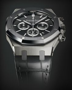 Audemars Piguet - Royal Oak Leo Messi Limited Edition 26325TS.OO.D005CR.01 in tantalum and steel.