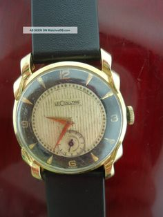 A 1920-1970 automatic men's watch by Le Coultre
