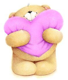 ʕ •́؈•̀ ₎♥ Teddy Bear ✿⊱╮Teresa Restegui http://www.pinterest.com/teretegui/✿⊱╮