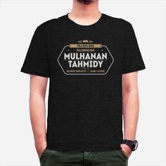 mulhanan-tahmidy dari tees.co.id Days And Months, Creative Design, Platform, Hoodie, Tees, Mens Tops, T Shirt, Live, Fashion