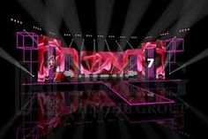 mhg media signed the stage design and lighting project for the china food drinks fair - Concert Stage Design Ideas