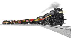 Express your support of Jeff Gordon and the No. 24 team with this new train set from Lionel! Each of these Ready-to-Run O-Gauge trains are designed with driver and team graphics so fans can show off their Gordon loyalty. Plus, the gondola car even holds two included 1:64 scale No. 24 die-cast! Order yours now at www.lionelnascar.com, the NASCAR Superstore or your hometown retailer.