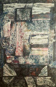إحسان صطوف  Ehssan Sattouf  Oil on paper زيت على ورق  28.5 X 43.5 cm