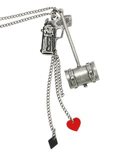 DC Comics Harley Quinn Hammer Necklace | Hot Topic