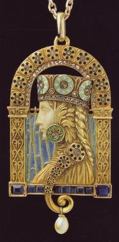 Spanish jewelry ~in Art Nouveau style. Luis Masriera 1872-1958