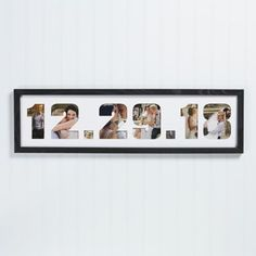 Help them capture all the wonderful memories of themselves on their wedding day with this Date Photo Collage Picture Frame. Showcasing precious pictures inside their a custom designed frame personalized with their wedding date. Photo Collage Board, Photo Collage Gift, Collage Picture Frames, Wedding Collage, Wedding Frames, Boyfriend Anniversary Gifts, Diy Gifts For Boyfriend, Boyfriend Picture Frame, Diy Birthday Gifts For Sister
