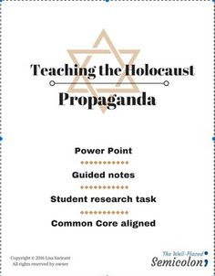 Worksheets Propaganda Techniques Worksheet Answers propaganda techniques virtual field trips persuasive writing commemorate holocaust remembrance day with this important lesson on nazi students will learn propaganda