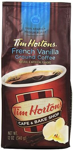 Tim Horton's 100% Arabica Medium Roast French Vanilla Ground Coffee 12 Ounce for $4.89 (Or $4.19 W/ 5 Subscr... #LavaHot http://www.lavahotdeals.com/us/cheap/tim-hortons-100-arabica-medium-roast-french-vanilla/170938?utm_source=pinterest&utm_medium=rss&utm_campaign=at_lavahotdealsus