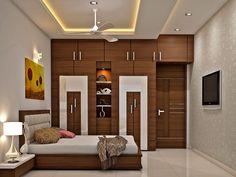 Indian Bedroom Design, Indian Bedroom Decor, Room Design Bedroom, Ceiling Design Living Room, Bedroom False Ceiling Design, Bedroom Cupboard Designs, Bedroom Furniture Design, Home Room Design, Modern Bedroom Design
