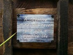 Tin sign of positive affirmation bolted to rustic recycled timber frame which measures 30cm x 35cm...... $40 www.newagerusticdesigns.com.au or personal message me or  email newagerustic@gmail.com or  sms 0418-315-890  to order