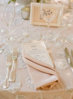 Pretty table design
