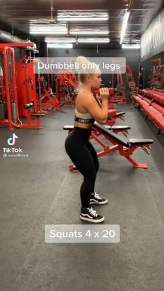 Leg And Glute Workout, Buttocks Workout, Full Body Gym Workout, Leg Day Workouts, Gym Workout Videos, Gym Workout For Beginners, Fitness Workout For Women, Gym Workouts Women, Gym Video