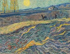 Vincent van Gogh Laboureur dans un champ, painted in Saint Rémy, early September x 25 ½ in x cm). Estimate on request. This lot is offered in Impressionist & Modern Art Evening Sale on 13 November 2017 at Christie's in New York Wassily Kandinsky, Vincent Van Gogh, Artist Van Gogh, Van Gogh Art, Art Van, Claude Monet, Champs, Van Gogh Pinturas, Van Gogh Paintings