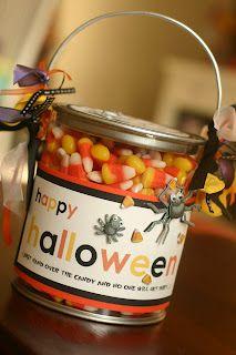 paint bucket treats