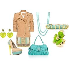 green accents!