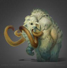 ArtStation - Mammoth, Dmitriy Barbashin