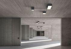struktur-lampe-de-plafond-von-vibia-design-arik-levy/ - The world's most private search engine Ceiling Light Design, Chandelier Ceiling Lights, Lighting Design, Laundry Decor, Entryway Lighting, Restaurant Lighting, Overhead Lighting, Led Licht, Room Lamp