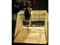 Yet another CNC milling machine for PCB by Vladimir_Trondin - Thingiverse