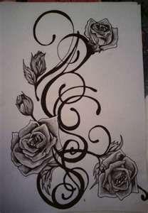 Beautiful side tattoo