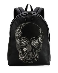 Men s Skull-Studded Small Backpack by Alexander McQueen at Neiman Marcus 9e7860b191a4b