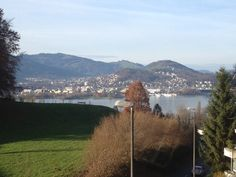 View from apartment, in lucerne