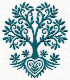 Free Embroidery Design: Tree of Life