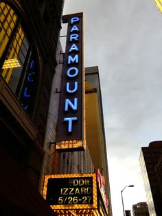 We've seen a few comedians at the Paramount Theater in downtown Denver. (http://www.paramountdenver.com/history)