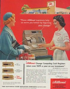 Accept. vintage ncr products join